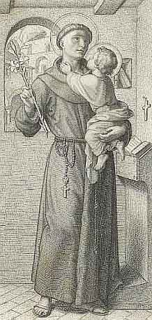 Picture of St. Anthony courtesy of Wikipedia