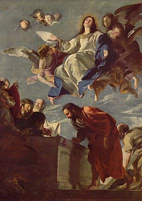 Assumption painting by Mateo Cerezo courtesy of Wikipedia