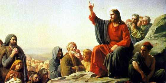 Painting of the Sermon on the Mount by Carl Heinrich Bloch courtesy of Wikipedia