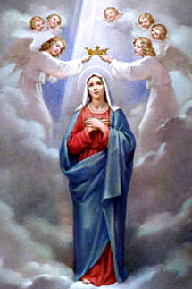 Picture of the Coronation of Mary courtesy of Wikipedia