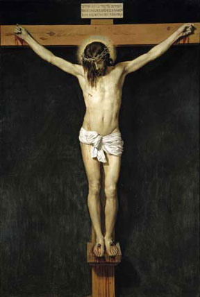 Cristo Crucificado by Diego Velazquez, courtesy of Wikipedia