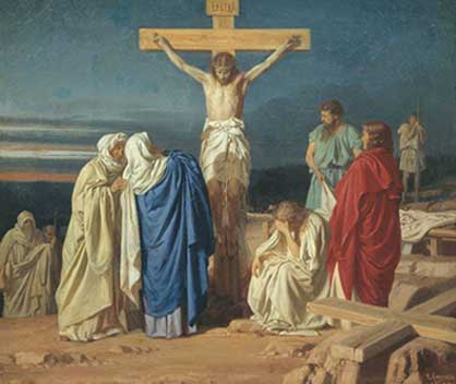 The Fifth Prayer to the Sorrowful Mother: Jesus Dies on ...