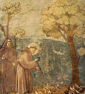 Painting of St. Francis of Assisi by Giotto courtesy of Wikipedia