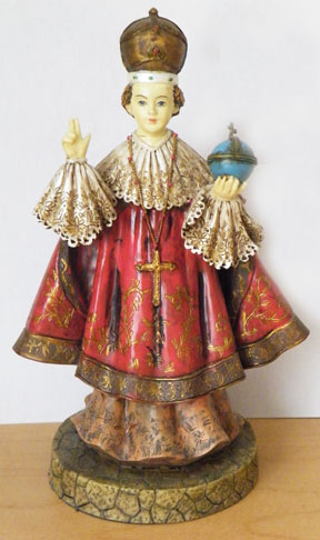 Prayer to infant jesus of prague holy card pictures to pin on