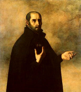 Ignatius_Loyola_by_Francisco_Zurbaranweb - SUSCIPE - Anonymous Diary Blog