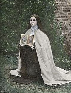 St. Therese of the Child Jesus, courtesy of Chant Art