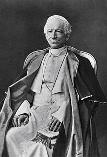 Picture of Pope Leo XIII courtesy of Wikipedia