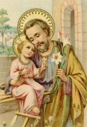 Picture of St. Joseph courtesy of Chant Art