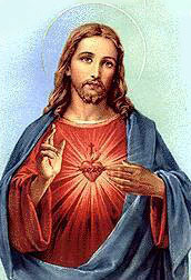 Picture of the Sacred Heart of Jesus courtesy of Wikipedia