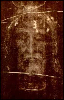 Picture of Jesus from the Shroud of Turin