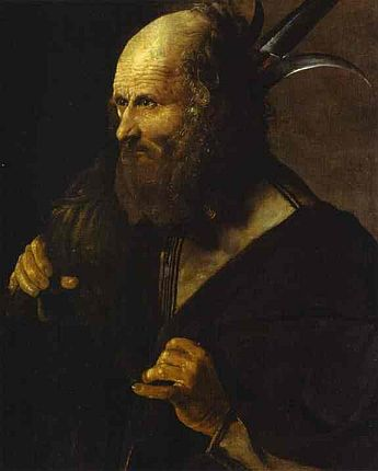 Painting of Saint Jude Thaddeus, by Georges de La Tour, courtesy of Wikipedia