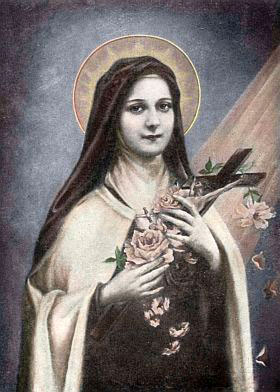 Picture of St. Therese courtesy of Chant Art