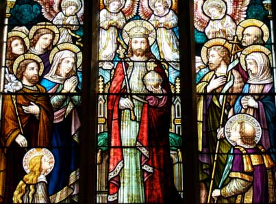 Stained glass picture courtesy of istockphoto.com