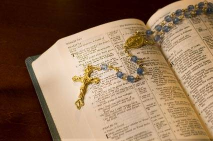 A Scriptural Rosary: To reflect on our Lord and our Lady