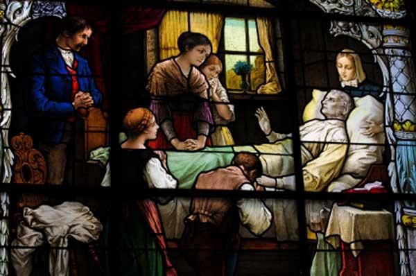 Pieta prayers for the dying